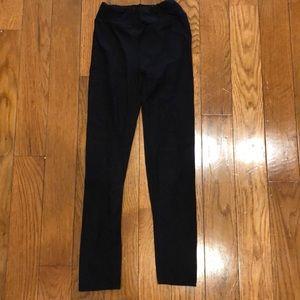 LuloRoe black leggings girls size L/XL